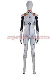 Wholesale Kids Lycra Bodysuit - Ayanami rei Costume Lycra Spandex Digital Print Bodysuit Halloween Cosplay Zentai Catsuit For Female Women Girls Lady Hot Sale Free Shipping