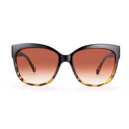 Wholesale Progressive Bag - sunglasses for women oval polarized sunglasses On the black under the DEM progressive tea UV400 with Glasses cloth bag box DS53-1