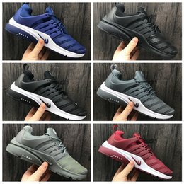 Wholesale Breathe Sports - 2017 Autumn Winter Airs Presto Low Utility Running Shoes for Fashion Prestos Ultra Breathe Jogging Sports Sneakers Size 40-45 Free Shipping