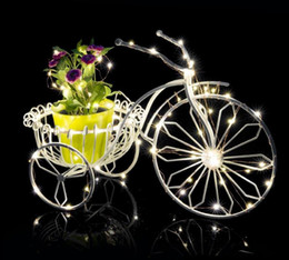 Wholesale Thin Wire String Lights - 2M 3M 4M LED Battery Strings LED Copper Wire String Light AA Battery Operated Fairy Party Wedding Christmas String
