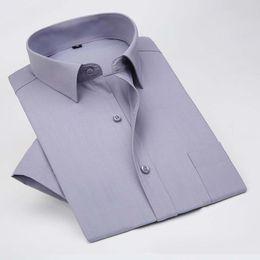 Wholesale Loose Collar Shirts Wholesale - Wholesale- Men Shirt - Hot Sale Men 's Shirts Professional Men' S Shirts Business Loose Solid Color High - Grade Shirt #1847386