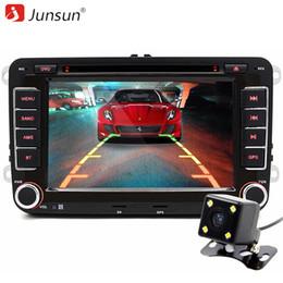 "Wholesale Video Player For Tv - Junsun 7"" 2 din Car DVD GPS radio stereo player for Volkswagen VW golf 6 touran passat B7 sharan Touran polo tiguan free gift"