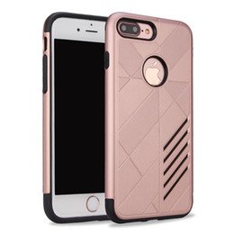 Wholesale Cheap Phone Cases For Sale - For iPhone X 8 Plus 7 6S 5SE Hot Sale Cheap Durable Hybrid Smart Phone Case Armor Tough Cover Retail Packaging Opp Bag
