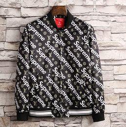 Wholesale Long Jackets Fur Hood Mens - High quality Windbreaker jacket Winter Hot sale Mens Hoodies and Sweatshirts casual with hood fashion medusa jacket men's hoodies M--3XL