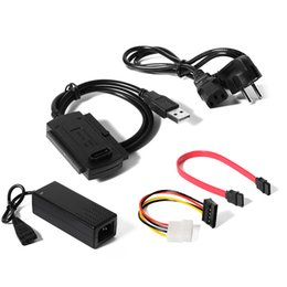 """Wholesale Sata Ide Drive Converter - Wholesale- USB 2.0 to SATA IDE Converter Adapter Cable for Hard Drive 2.5 3.5"""" CD DVD AC349"""