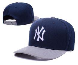 Wholesale Gold Embroidered Snapback - Wholesale 2017 baseball cap New York Yankees baseball cap embroidered letters snapbacks Hats Adjustable Snapback Caps For Men Women