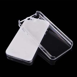 2019 couvercle transparent pour iphone 5c Coque de protection arrière haute coque transparente pour PC coque transparente pour iphone 7 plus 5 5S SE 5C 6 6S PLUS couvercle transparent pour iphone 5c pas cher
