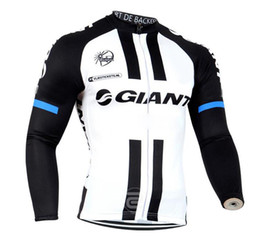 Wholesale cycle jersey long sleeve - Giant 2017 Long Sleeve Cycling Jersey Maillot Ciclismo hombre Bicycle Sport Cycling Clothing Tops Mountain Bike Ropa Ciclismo D0801