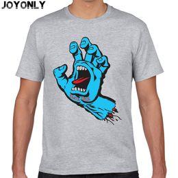 Wholesale Brown Wholesale Skates - Wholesale- Joy Only New Skateboard Skate Santa Cruz t shirt Men Casual Fitness Skate t-shirt Mens Clothing Camisetas 3D Printed Tops TA60