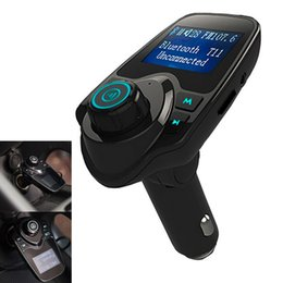 Wholesale Usb Extended - LCD Bluetooth Car MP3 Music Player Kit Auto Radio Audio Stereo Player Hands-free FM Transmitter Extend MP3 USB SD MMC CAU_215