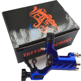 Wholesale Rotary Tattoo Gold - gun gold New Arrival 3PCS Dragonfly Rotary Tattoo Machine Professional Assorted Tatoo Swiss Motor Gun Kits Supply For Artists
