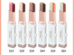 2019 ombre à paupières 6 pcs / lot NOVO couleur fard à paupières 6 couleurs différentes 3.8g velours Gradient couleur Fard à Paupières Bâton livraison gratuite ombre à paupières pas cher