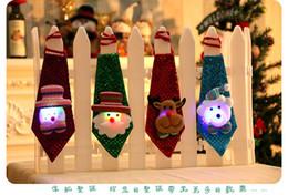 может краситель полиэстер Скидка 2017 новые рождественские украшения галстуки для детей и взрослых симпатичные Санта-Клаус галстуки лучшие рождественские украшения подарки