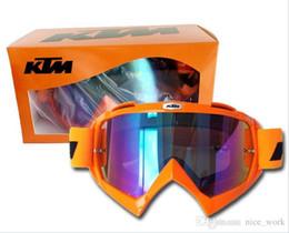 óculos ktm Desconto Marca KTM Motocicleta Goggle Dirt Bike Downhill Óculos  Motocross Off-Road Eyewear a7df3ebced