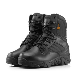 Mens Leather Combat Boots Online Wholesale Distributors Mens