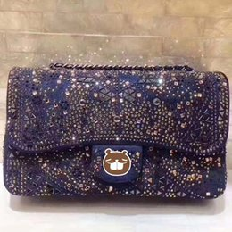 Wholesale Cheap Leather Accessories - Hot 2017 top quality Handbags New Women Bag Ladies Handbag Black 25CM Shoulder Bags Fashion Accessory Cheap Woman Handbags