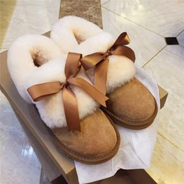 Wholesale Womens Winter Shorts Brown - Free shipping Real Australia Top Quality WGG Women's Classic Short Boots Womens Boot Snow boots Winter boots leather boot Shoes