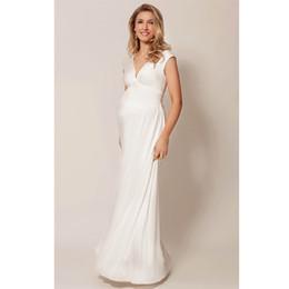 1960761ef40 Brand Tencel+Lycra Sleeveless Long Dresses for Pregnant Women Summer Maternity  Dresses Pregnancy Clothes Loose Lady Vestidos HOT