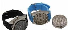 Relógio de moagem de tabaco on-line-Moda Clássico moedor relógio Assistir forma moedor De Cigarro moedor de somking relógio de Pulso Grind Real DHL livre