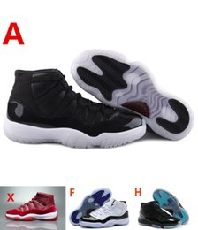 Wholesale Rubber Backed Material - retro 11 space jam 2016 45 back basketball shoes original material and carbon fiber built-in air cushion Original Factory Quality Version