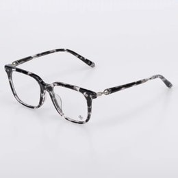 2017 wholesale deep square handmade acetate unisex glasses designer original clear lens prescription women mens reading
