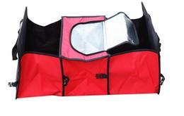 Wholesale Car Trunk Storage Coolers - With cooler bag! Car trunk storage bag Oxford Cloth folding truck storage box Car Trunk Tidy Bag Organizer Storage Box