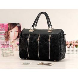 437f48d00f7 Fashion shoulder bags sale Lady Retro Lace Designer PU (Faux) Leather  Shoulder bags for women luxury handbag