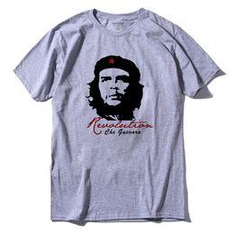 Wholesale Anti Che - short sleeve Cotton che guevara revolution printed men t-shirt casual o-neck men's T-shirt female tee shirt