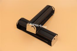 Wholesale Paper Hand Cigarette Rolling - 12pcs lot free shipping USA 70mm manual Metal Smoking Cigarette Rolling Machine hand Tobacco Roller Box injector for cigarette rolling paper