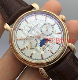 Wholesale Mechanical Movements - A2813 Gold Automatic Movement Top luxury brand VC Sports Men's Mechanical Stainless Steel Watch Business Watches mens Self-wind wristwatch