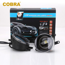 Wholesale Universal Lighting Systems - High bright Car LED Fog Light High Quality 28W Smart LED Fog Lamp Auto Car Lighting System for cars automotives