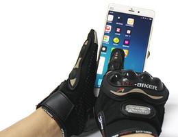 Открытый спорт перчатки 2017 горячие продажа езда племя сенсорный экран перчатки мотоцикл перчатки Зима Лето Motos Luvas мотокросс защитные перчатки от Поставщики продажа мотоциклетных перчаток