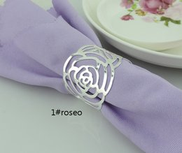 Wholesale Pearl Hotel Decoration For Birthday - Napkin Rings Wrap clip Holder pearl grace for Gift Craft Birthday Wedding Party baby shower favor Decoration DIY table hotel