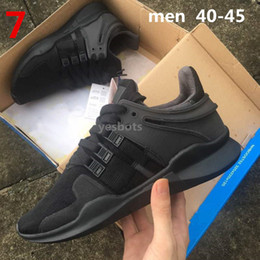 Wholesale Soft Green Light - Direct selling EQT Support ADV Primeknit running shoes for men and women sports shoes sneakers ,size us 5-10