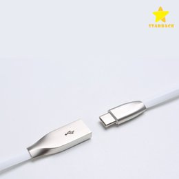 Wholesale Usb For Android - Byloly Zinc Alloy Metal USB Cable Fast Charging for Samsung Android Type C HUAWEI 2 in 1 1M 3FT with Retail Package.