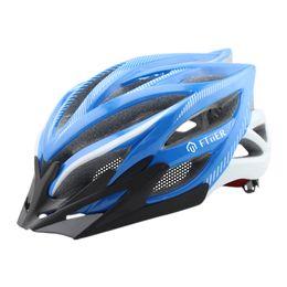 Wholesale outdoor certification - Ftiier Protect Safety Adult Bike Helmet Integrally-molded Ultralight Outdoor Sports Mountain CE Certification Bike Helmet