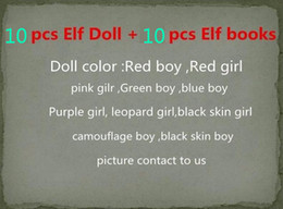 Wholesale Plush Elves - 10 Style Elf Doll Christmas Elf Plush toys On The Shelf Elves Xmas dolls For Kids Holiday And Christmas Gift