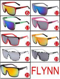 Wholesale Designer Coats For Women - FLYNN Brand Designer Sunglasses for man and Women Sunglasses Men Reflective Coating Square Sun Glasses Women outdoor 6 colors sun glasses