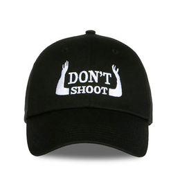 Wholesale Usa Personalities - Personality Embroidery Don 't Shoot Snapback Baseball Caps casquette de marque usa Street Dancing Hip Hop Fashion Drake Caps Sun hats Sports