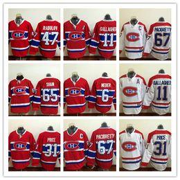 85063fb7fd3 2017 Cheap Montreal Canadiens 6 Shea Weber Hockey 65 Andrew Shaw 67 Max  Pacioretty 31 Carey Price 47 Radulov Jerseys Red White Stitched