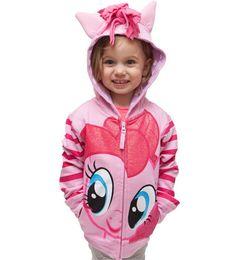 Wholesale Horse Hooded Sweatshirts - Children sweatshirt Girls cotton Cartoon small horse wings tops Kids tassel horse ears hooded zipper outwears Girls fashion clothes C1578