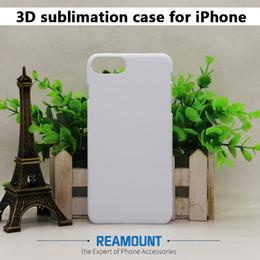 Wholesale Sublimation Iphone 5c - Wholesale Phone Case For iPhone 6 6 Plus 3D Blank Sublimation Case Cover for iPhone 5 5C New Fashion Blank hard Phone Shell