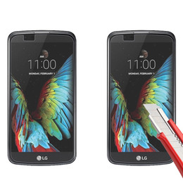 Wholesale Screen For Lg L9 - 2.5D 9H Ultra Thin Screen Protector Glass For LG LS751 joy spirit H440 Magna V10 G5 K7 K10 K4 L90 300pcs