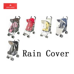 Wholesale Raincoats For Babies - Wholesale- Original Maclaren Rain Cover Baby Stroller Accessories Raincoat Pram Baby Carriages Accessory Rain Coat Suitable For Quest XT