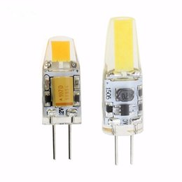 Discount led cree lamp bulb 6w - new DC AC 12V g4 COB Led bulb Lamp SMD 3014 3W 6W Replace 20w 40w halogen light 360 Beam Angle luz lampada