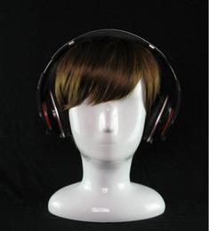 2019 capelli alti spedizione gratuita! teste di manichino per parrucche, teste di manichino per bambini in fibra di vetro bianco di alta qualità per cappello / parrucca / cuffie adatto, M00482