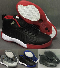 Wholesale Sugar Lace - Cheap Retro JUMPMANS Pro OG Taxi Bred Men's Basketball Shoes Black Men Air Retros 12.5 Team Pro 2017 Sugar Ray Sprot Sneakers