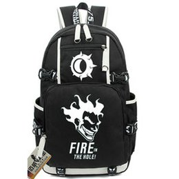 Wholesale Canvas Crazy - JunkRat backpack Crazy man day pack Jamison Fawkes school bag Game rucksack Sport schoolbag Outdoor daypack