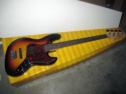 Wholesale Sunburst Bass - Guitar factory 4 strings bass, jazz bass, Chinese guitar new style, Chinese guitar instrument,