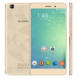 Wholesale Phablet 3g Hd - 2017 Bluboo Maya 3G Phablet gold Android 6.0 5.5 inch HD Screen MTK6580 Quad Core 1.3GHz 2GB RAM 16GB ROM Gravity Sensor A-GPS Bluetooth 4.0